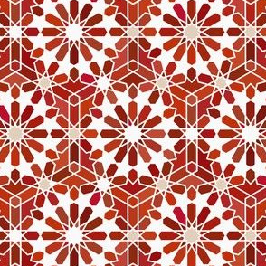 Red Zellige