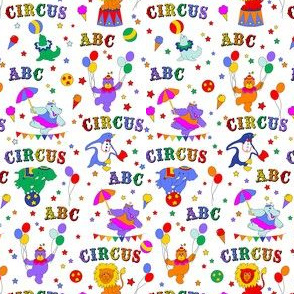 Circus Animals and Alphabets/Smaller Scale