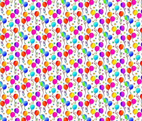 It's A Party!/Smallest Scale fabric by ileneavery on Spoonflower - custom fabric