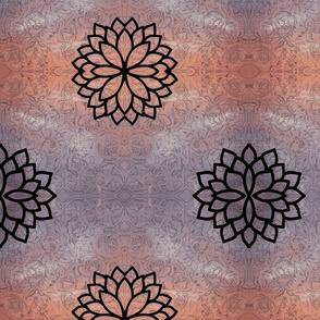 peace roses-mandala sunset-small