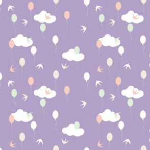 Let's fly lavender