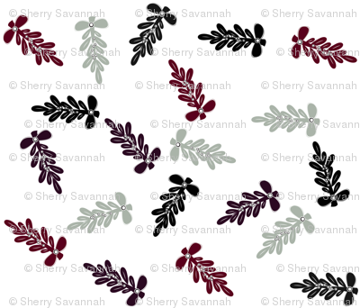 Mistletoe in Shades of Neutral