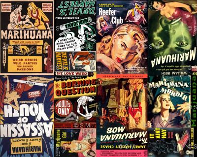 Marijuana Pulp Novels