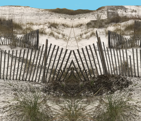 Sand Dunes Alabama fabric by fabric_is_my_name on Spoonflower - custom fabric