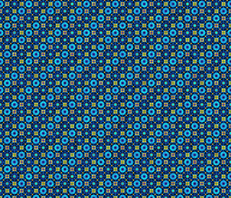 Midnight in Merrakech fabric by evanpeters on Spoonflower - custom fabric