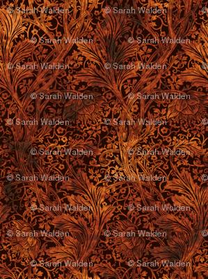 Arcadia ~ Tortoiseshell on Senart ~ William Morris