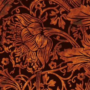 Arcadia ~ Tortoiseshell on Senart ~ William Morris