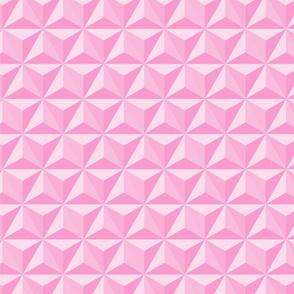 Hexadidnt baby pink_spaceship Earth (epcot)