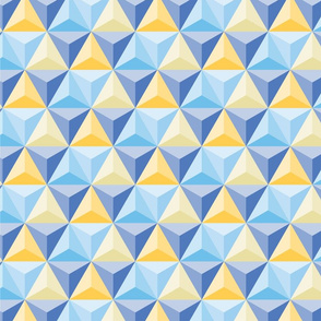 Hex blue yellow (epcot)