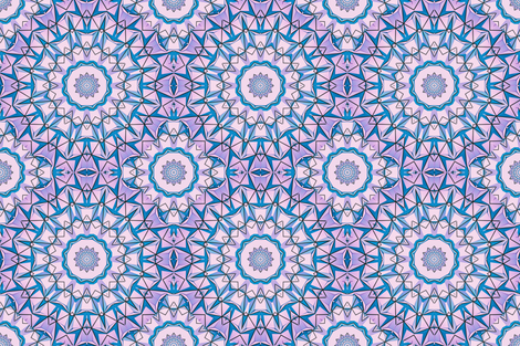 Marakesh Mandala02  fabric by mishimoqua on Spoonflower - custom fabric