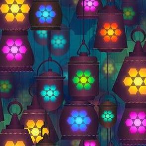 lantern in the bazaar