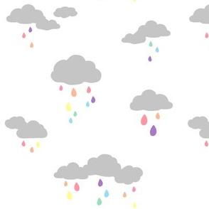 Rain Clouds Pastel