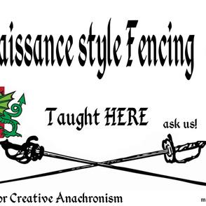 fencing practice Pentamere