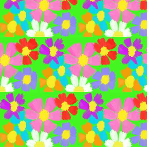 Daisy Day fabric by fabric_is_my_name on Spoonflower - custom fabric