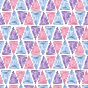 Triangle gemstones