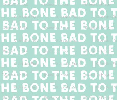 bad to the bone - aqua