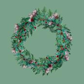 Holiday Wreath Pillows