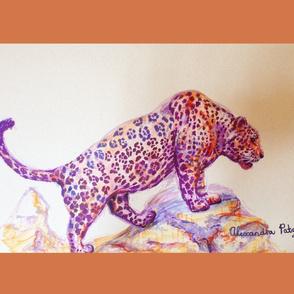 Jaguar Tea Towel