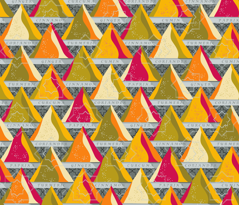 Spice Up My Life! fabric by cinz on Spoonflower - custom fabric