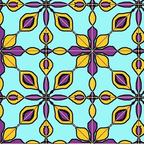 Marrakesh Floral tile aqua
