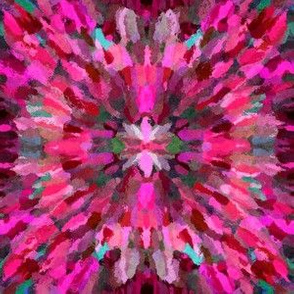 Diana Star Paint Strokes, Pink