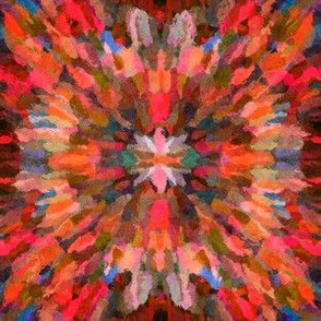 Diana Star Paint Strokes, Orange