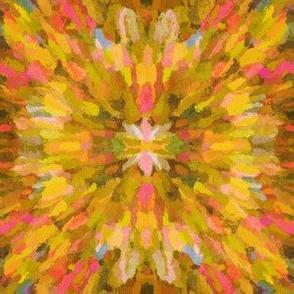 Diana Star Paint Strokes, Yellow