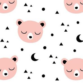 Bear Moon - Blush