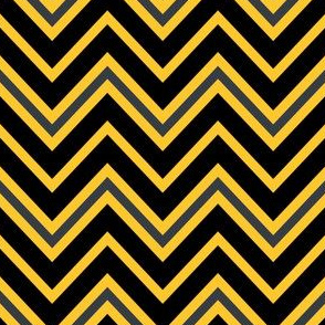 Chevrons in Yellow and Black