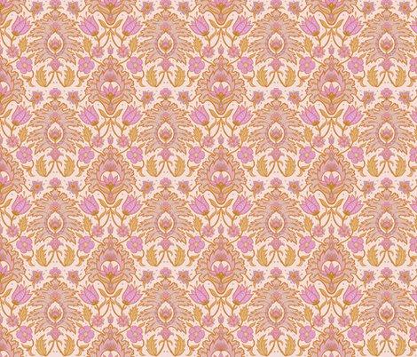 Boho_floral_tile_-_pink_and_ochre_18cm_150dpi_shop_preview