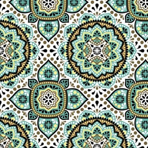 Arabian ornamental pattern