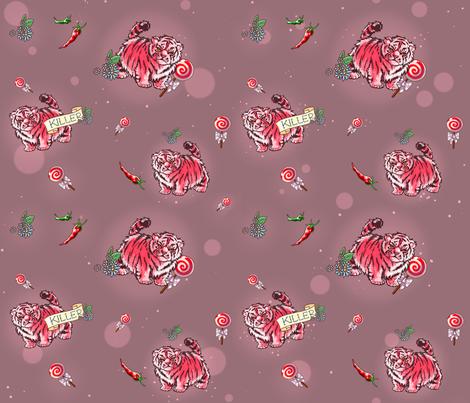 Killer fabric by lemborghini on Spoonflower - custom fabric