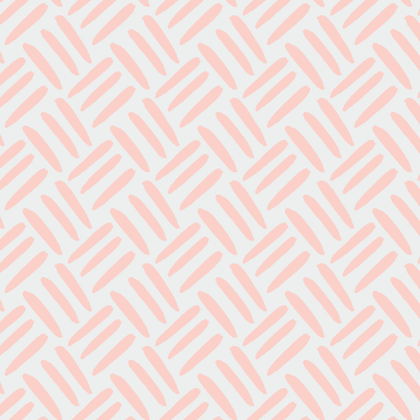 Blush Peach Coral  Pale Dove  Gray grey Weave Simple _ Miss Chiff Designs fabric by misschiffdesigns on Spoonflower - custom fabric
