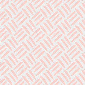 Blush Peach Coral  Pale Dove  Gray grey Weave Simple _ Miss Chiff Designs