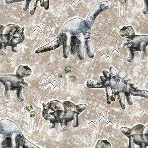 Rocksaurs (Brown)