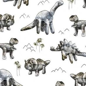 Rocksaurs (White)