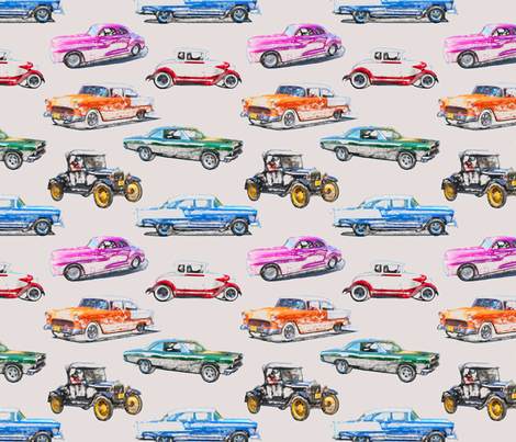 Classics in colored pencil medium fabric by leroyj on Spoonflower - custom fabric