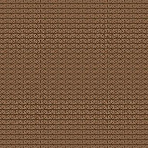 Simple Knotwork in Tan and Brown