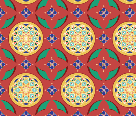 Maraakesh fabric by lifevoice on Spoonflower - custom fabric