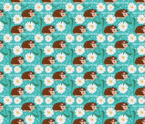 happyhedge fabric by lilly_lynne_designs on Spoonflower - custom fabric