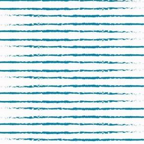 Brushstrokes in Blue