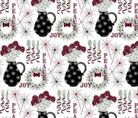 You're Invited! fabric by screamingsquirrelstudio on Spoonflower - custom fabric