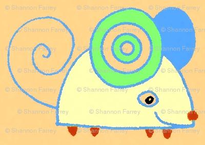 pastel mouse