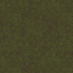 Cup Lichen Texture - Green on Brown