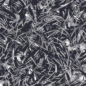 Pine Needle Texture - Navy Blue