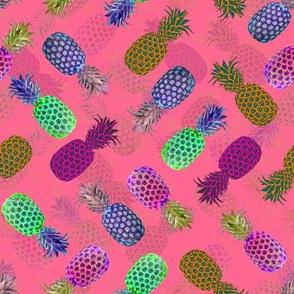 Pineapple Crush - Dark Pink