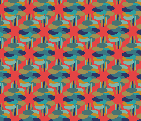 Hustle Bustle fabric by deborah_ann on Spoonflower - custom fabric