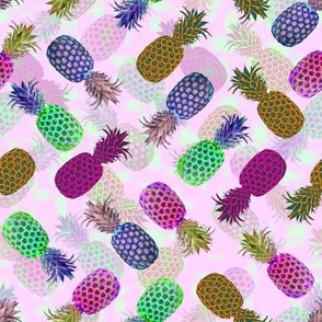 Pineapple Crush - Light Pink
