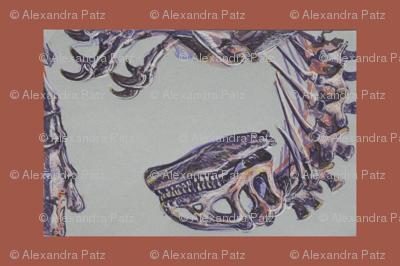 Allosaurus Tea Towel
