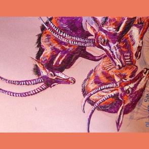 Sable Antelope Tea Towel